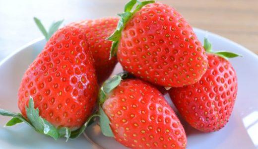 残留農薬5年連続1位のイチゴに栄養や効果はあるのか?